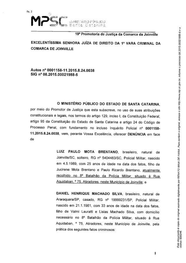 MPSC denuncia dois policiais militares pelo crime de tortura