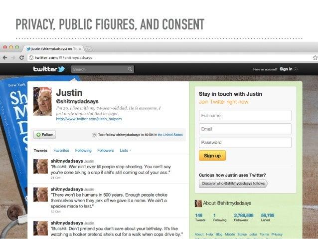 should public figures have private lives