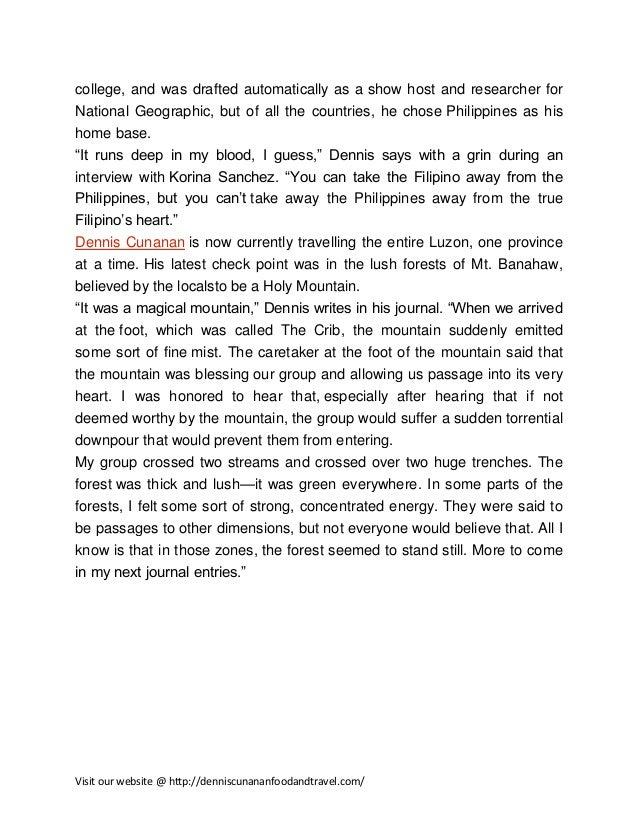 Dennis Cunanan-food-and-travel-expirience Slide 2