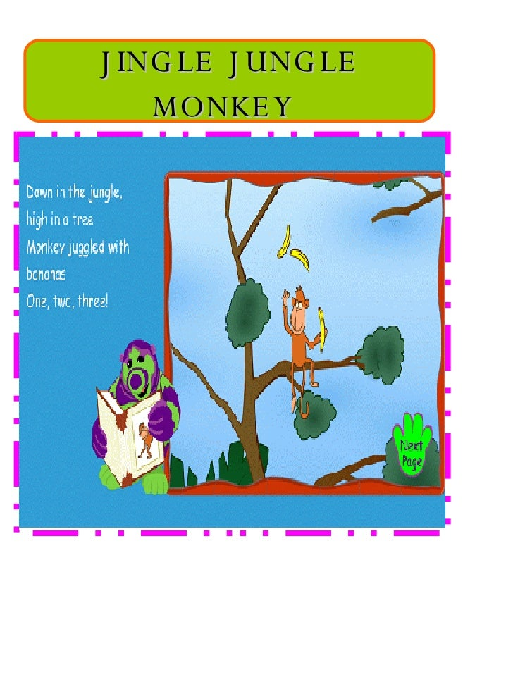 JINGLE JUNGLE MONKEY