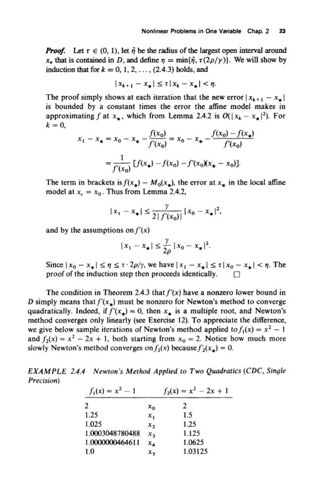 Numerical Methods For Unconstrained Optimization And Nonlinear Equations Pdf