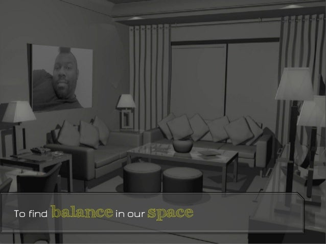 To find balancein our space