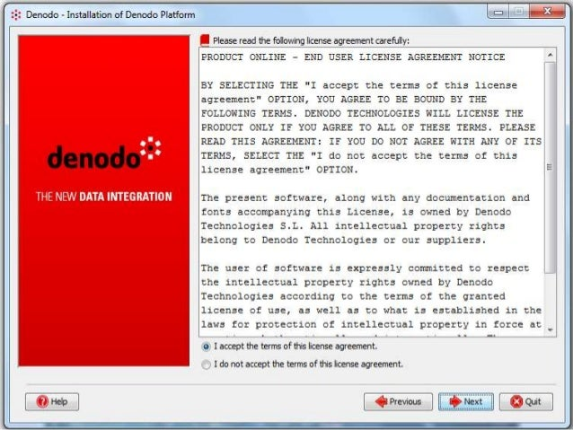 Denodo Installation