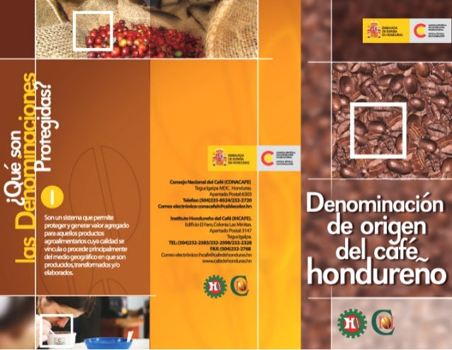 Denominacion de origen cafe hondureño 03 2005 mat promocional