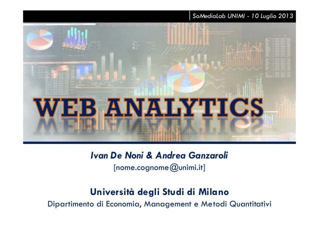 Ivan De Noni & Andrea Ganzaroli [nome.cognome@unimi.it] Università degli Studi di Milano Dipartimento di Economia, Managem...