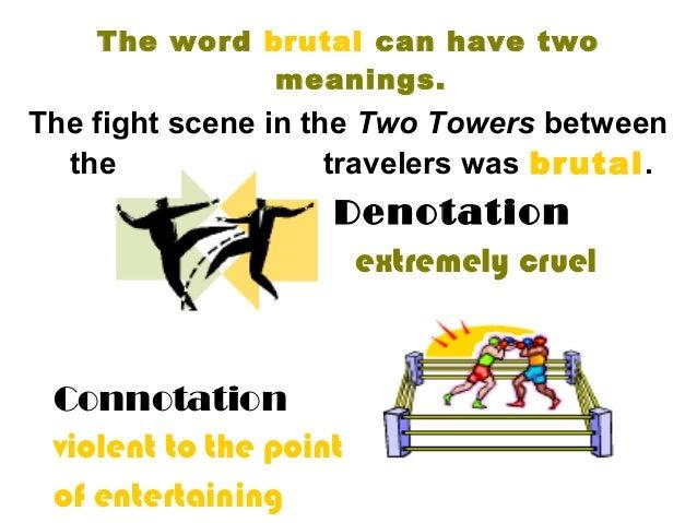 connotative definition essay