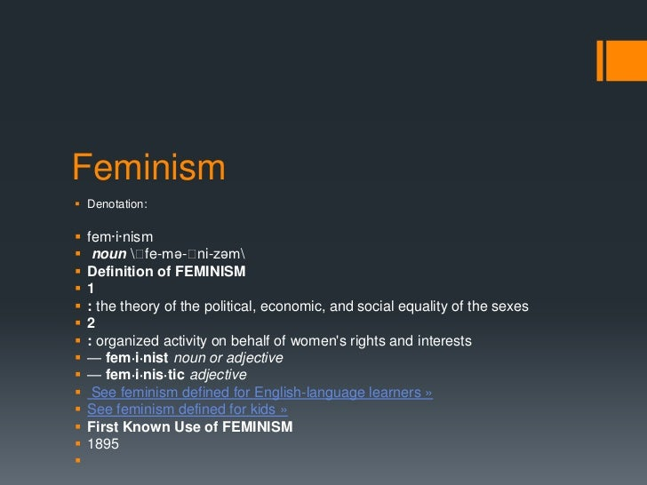 an analysis of feminism a theory of the political economic and social equality of the sexes In sexual harassment of working women, she advanced a legal theory  but  widespread, and reflect what the law should recognize as sex discrimination,  of  autonomy pervading western economic, social, and political theory and also  criticized  instead, feminist analysis should focus on the intersections of gender,  race,.