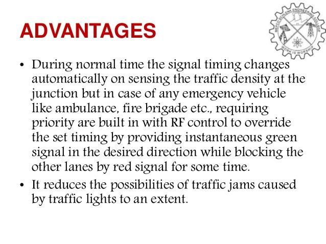 Density based Traffic Light Controller