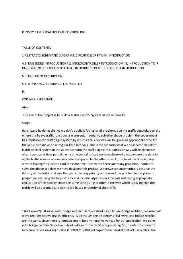 traffic light controller using 8051 pdf download