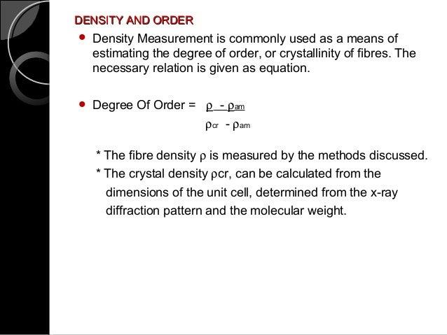 Density Gradient Measurement Ii Vps