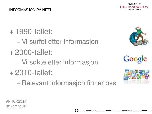 Den sosiale turisten - innlegg på NHO Reiselivs Årskonferanse, Bergen 21. mai 2014 Slide 3