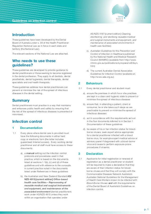 Dental --guidelines-on-infection-control Slide 2