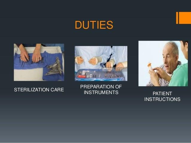 Dental Auxiliaries