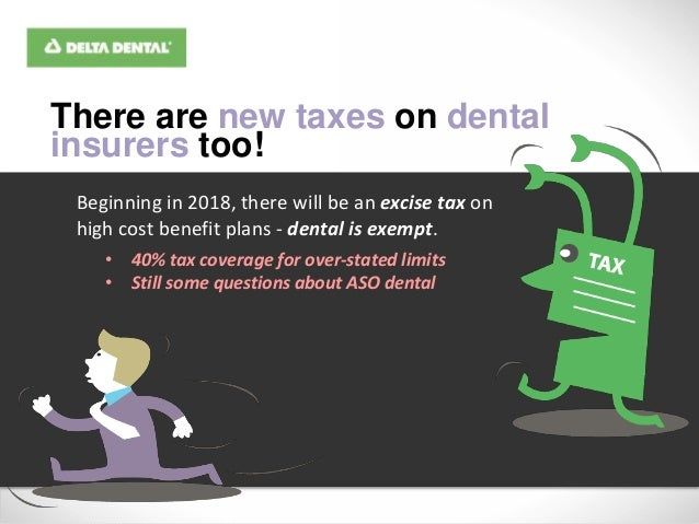 Dental benefits and the affordable care act