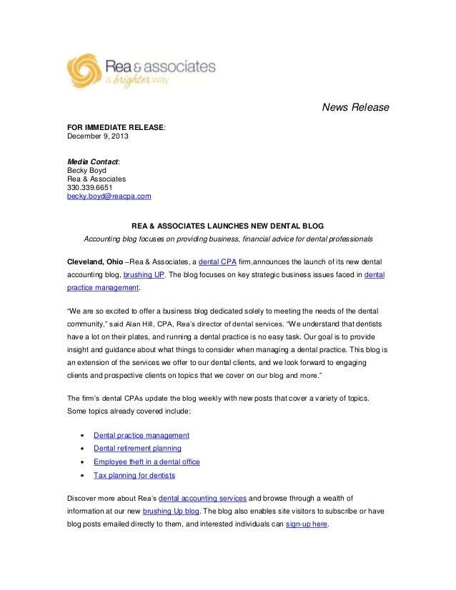 News Release FOR IMMEDIATE RELEASE: December 9, 2013  Media Contact: Becky Boyd Rea & Associates 330.339.6651 becky.boyd@r...