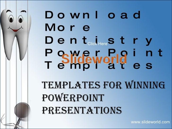 Dental Powerpoint Templates Dentistry Powerpoint Template Predesi