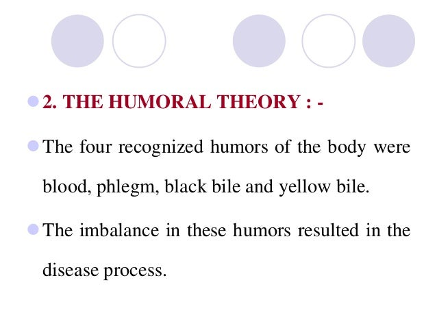 What is the humoral concept of disease?
