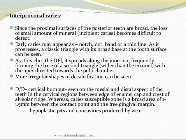 diagnosis of dental caries pdf