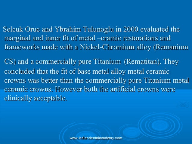 Selcuk Oruc and Ybrahim Tulunoglu in 2000 evaluated theSelcuk Oruc and Ybrahim Tulunoglu in 2000 evaluated the marginal an...