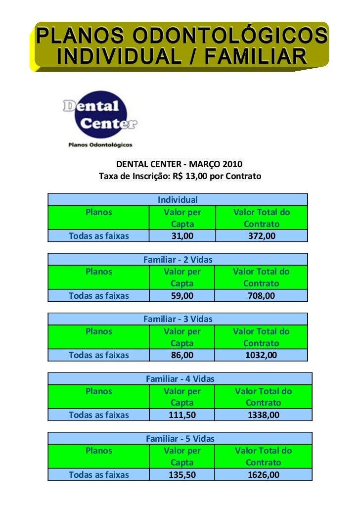 Dental center  familiar    novembro11