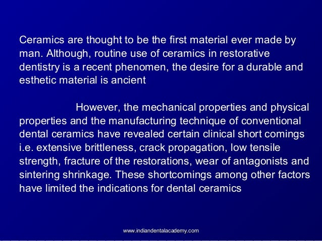 Dental Ceramics Certified Fixed Orthodontic Courses By Indian Dental