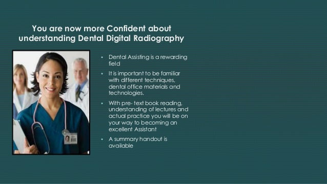 Dental Digital Radiography in Easy to Understand