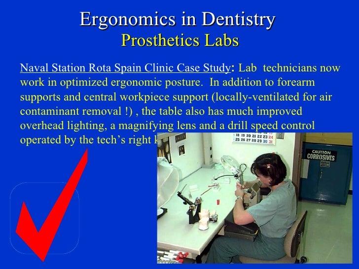 Ergonomic Applications To Dental Practice