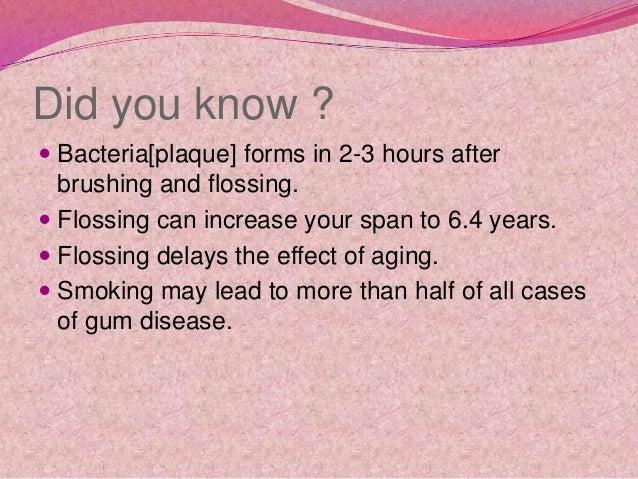 Dental hygiene and oral care Slide 2