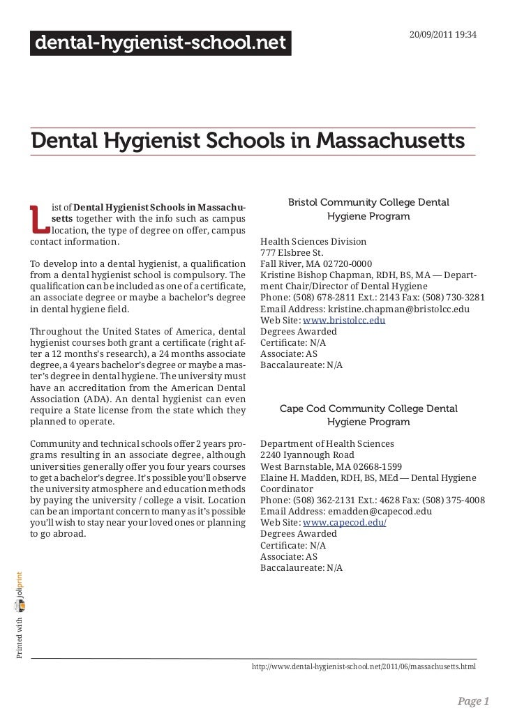 20/09/2011 19:34                 dental-hygienist-school.net                Dental Hygienist Schools in Massachusetts     ...