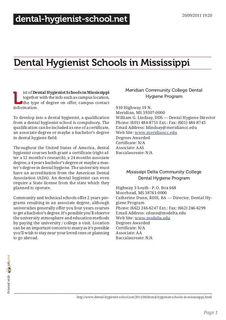 20/09/2011 19:20                 dental-hygienist-school.net                Dental Hygienist Schools in Mississippi       ...