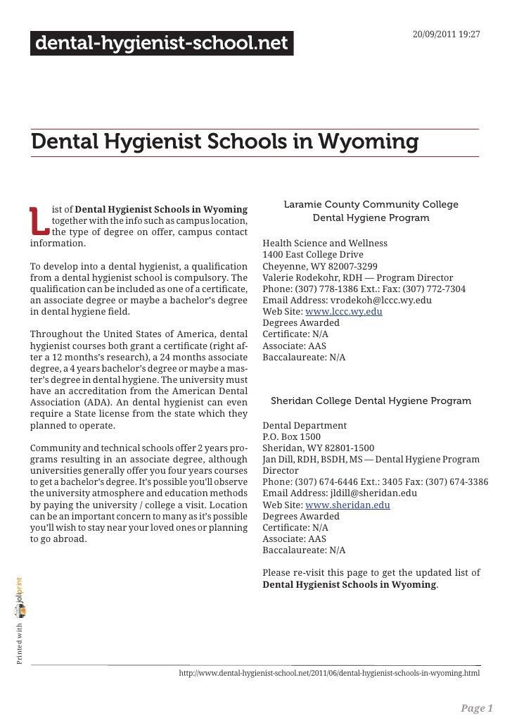 20/09/2011 19:27                 dental-hygienist-school.net                Dental Hygienist Schools in Wyoming           ...