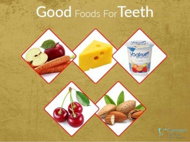The Dental Diet - What Foods are Good or Bad for Dental Hygiene Slide 2