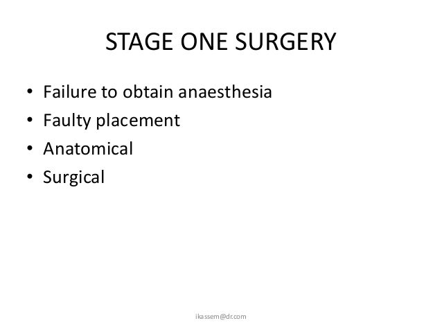 COMPLICATIONSSecond stage  – Loose implant  – Excess bone coverage  – Exposed threads  – Coverscrew problems          ikas...
