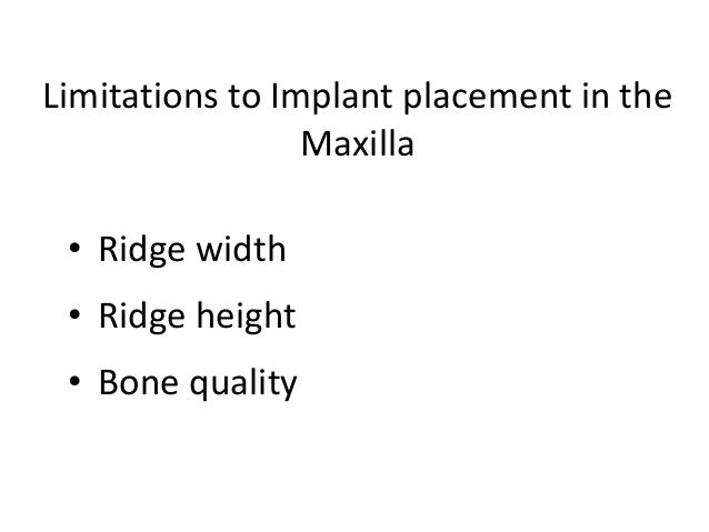 Placement ofhealing abutment