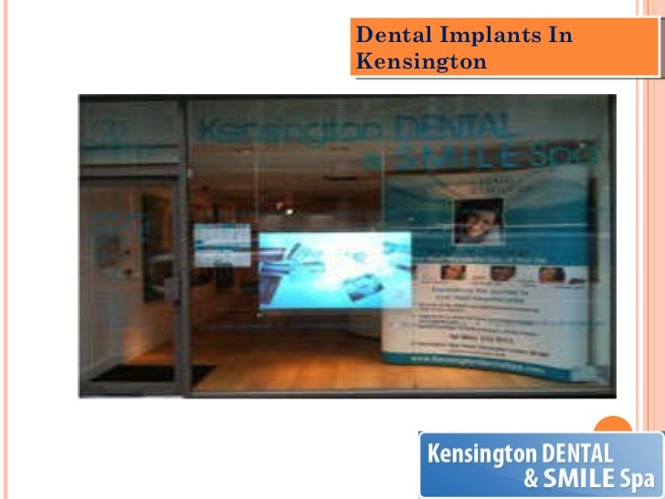 Dental Implants In Kensington
