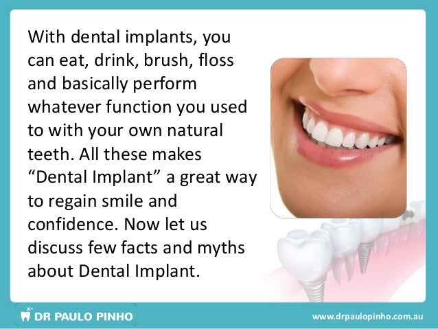 3 With Dental Implants