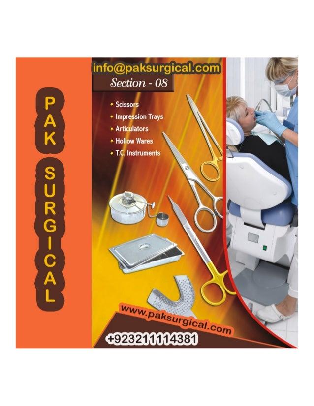 Dental instruments For pak surgical