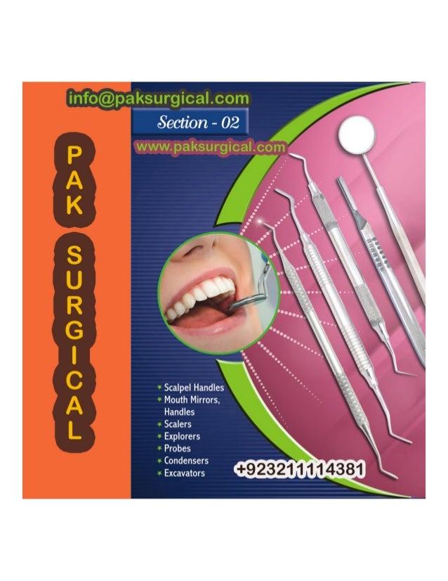 Dental instruments For pak surgical Slide 2