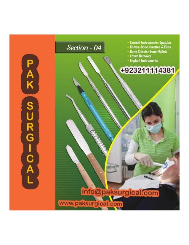 Dental instruments For pak surgical Slide 3