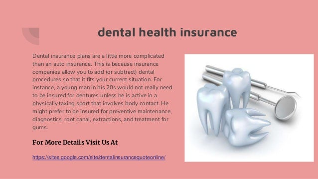 Dental Insurance Quote Online Interesting Dental Insurance Quotes