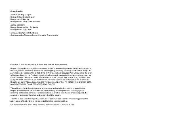 Dental medical and dental space planning (Malkin)