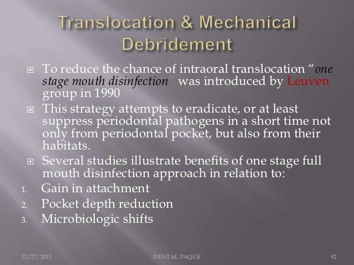 Non Specific Plaque Hypothesis Specific Plaque Hypothesis12/27/2011    DENTAL PAQUE        93