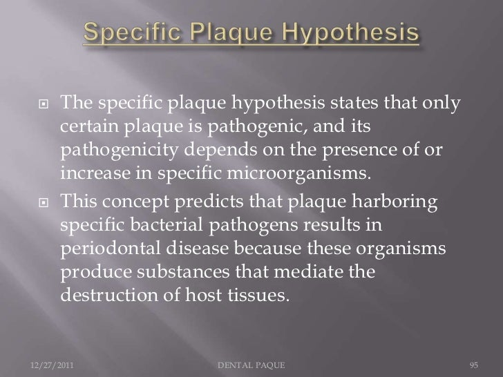     ASSOCIATION: A pathogen should be     found more frequently and in higher     numbers in disease states than in healt...