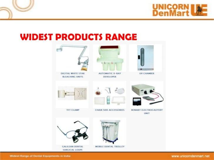 Dental Products By Unicorn Denmart Limited New Delhi