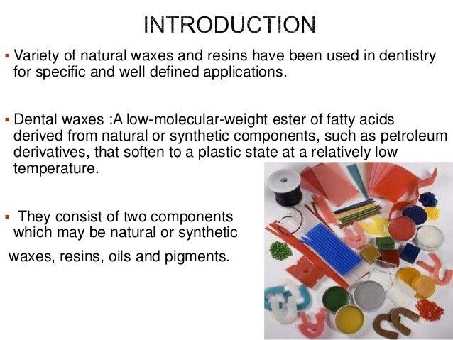 Dental waxes final ppt Slide 3