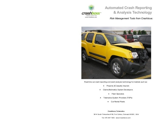 Automatic Accident Notification from Crashboxx Telematics