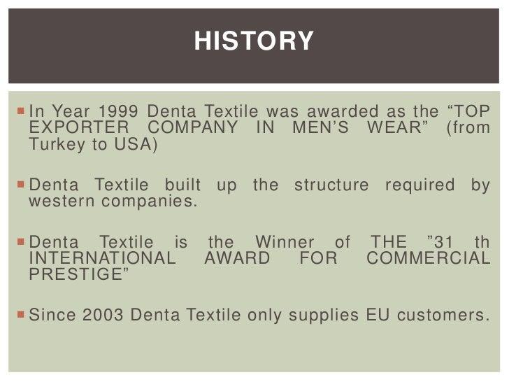 Denta Textile Company Profile