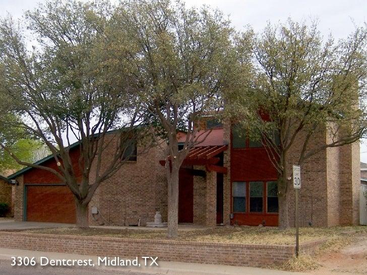 3306 Dentcrest, Midland, TX