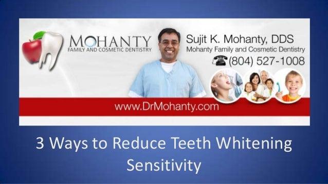 Dentist in richmond virginia 3 ways to reduce teeth