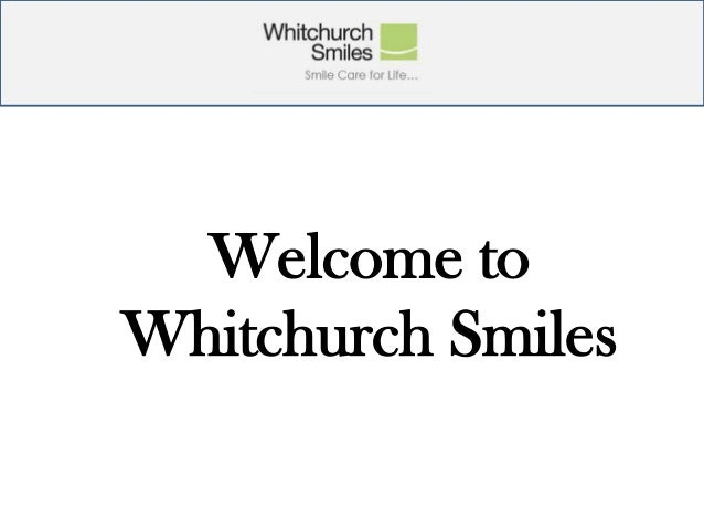 Welcome to Whitchurch Smiles